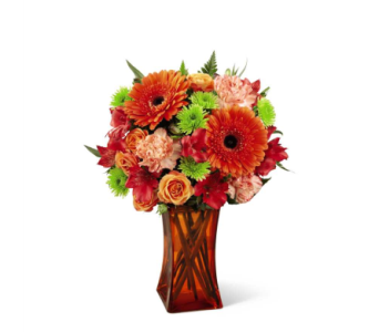 Orange Escape� Bouquet in Norfolk VA, The Sunflower Florist