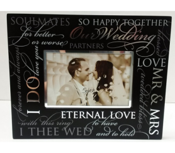 Wedding Frame in Timmins ON, Timmins Flower Shop Inc.