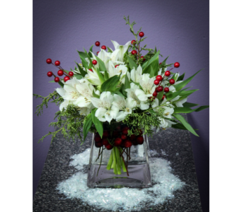 Holiday Party Arrangements in Royal Oak MI, Affordable Flowers