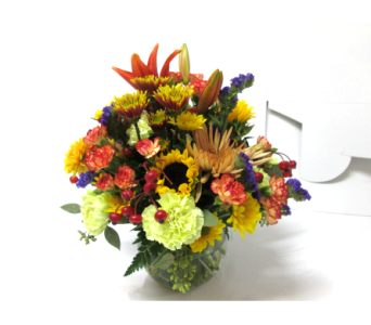 Give Thanks Bowl in Worcester MA, Holmes Shusas Florists, Inc