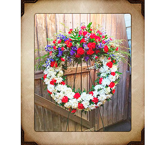 Wreath of Honor in Yorba Linda CA, Garden Gate
