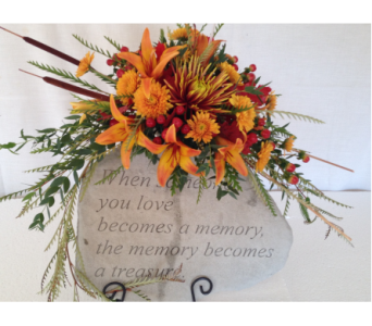 Custom Memory Stone in Crafton PA, Sisters Floral Designs