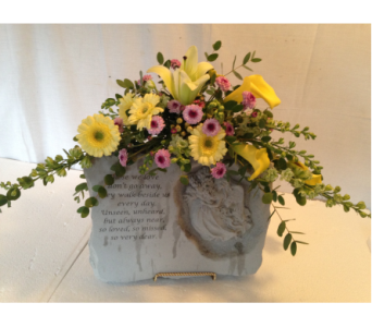 Custom Memory Stone 2 in Crafton PA, Sisters Floral Designs