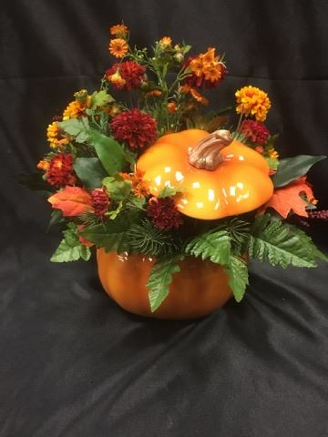Warm Fall Wishes Silk Arrangment  in Sitka AK, Bev's Flowers & Gifts