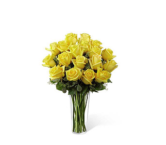 FTD Yellow Rose Bouquet in Branford CT, Myers Flower Shop