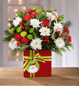 The Holiday Cheer Bouquet in Sapulpa OK, Neal & Jean's Flowers & Gifts, Inc.