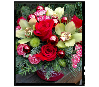 Cozy Christmas in Port Townsend WA, Holly's Fine Flowers