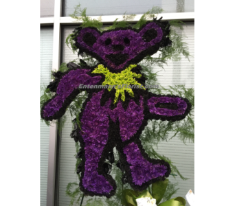 Grateful Dead's Dancing Bear in Jersey City NJ, Entenmann's Florist