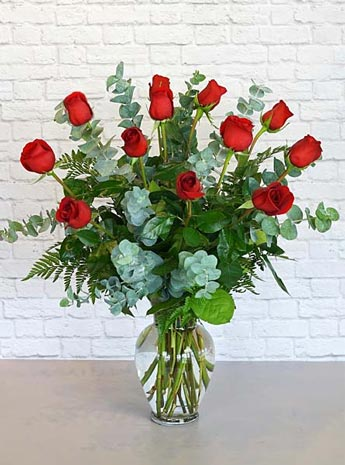 One Dozen Premium Red Roses in Fort Myers FL, Fort Myers Floral Designs