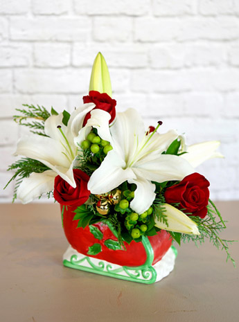Sleigh Bells in Fort Myers FL, Fort Myers Floral Designs