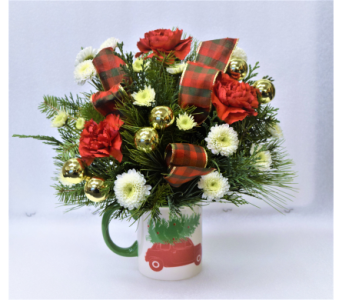 Christmas Mug in Anchorage AK, Flowers By June