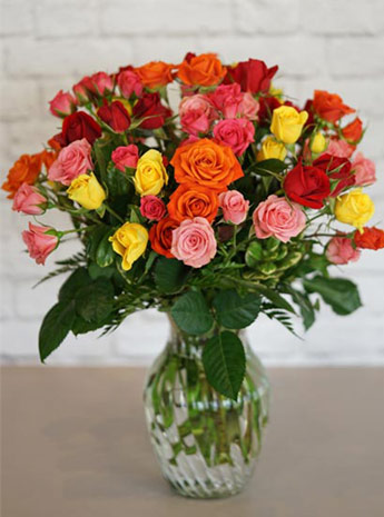 A Spray of Roses in Fort Myers FL, Fort Myers Floral Designs
