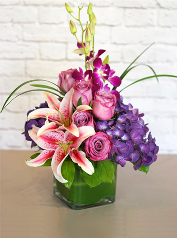 Purples in Paris in Fort Myers FL, Fort Myers Floral Designs
