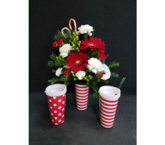 Cup of Christmas Cheer in Holland MI, Picket Fence Floral & Design