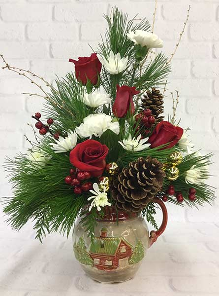 Country Christmas in Denver CO, Lehrer's Flowers
