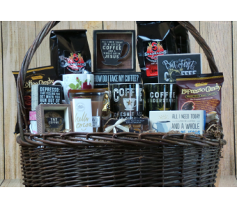 Jitters Coffee Basket! in Jonesboro AR, Posey Peddler
