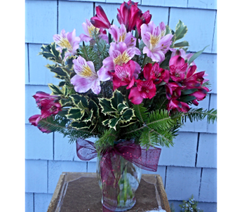 HollyDay Alstroemeria in Skowhegan ME, Boynton's Greenhouses, Inc.