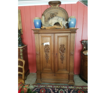 French Antique Hunt Cabinet  in San Antonio TX, Allen's Flowers & Gifts