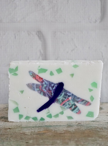 Dragonfly Soap Slice in Raleigh NC, Fallons Creative Flowers