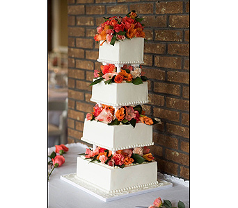 Pettyjohn Wedding Cake in Middletown DE, Forget Me Not Florist & Flower Preservation