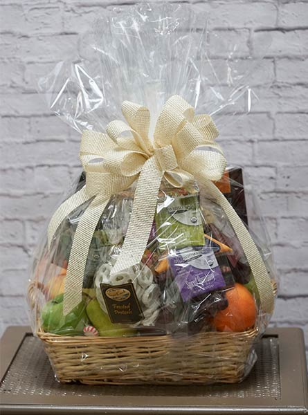 Fruit and Snacks Gift Basket in Augusta GA, Martina's Flowers & Gifts