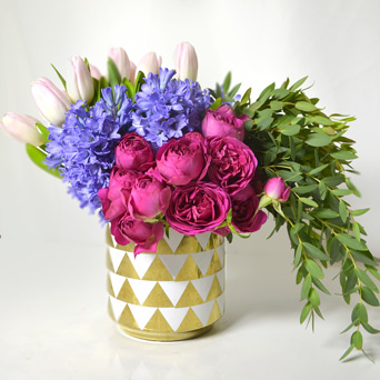 Hello Hyacinth in Dallas TX, Dr Delphinium Designs & Events