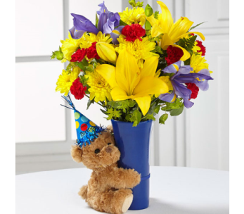 The FTD� Big Hug� Birthday Bouquet in El Paso TX, Executive Flowers