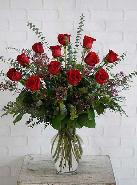 One Dozen Ultimate Red Roses in Newport News VA, Pollards Florist