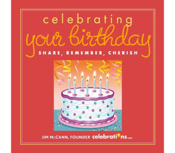Celebrate Your Birthday Book in Birmingham AL, Norton's Florist