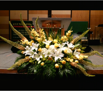 PODIUM ARRANGEMENT 105 in Arlington VA, Twin Towers Florist