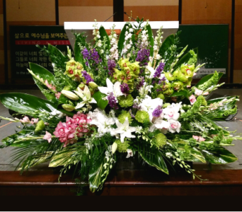 PODIUM ARRANGEMENT 109 in Arlington VA, Twin Towers Florist