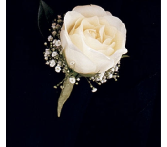 A Night To Shine Boutonniere in Cary NC, Every Bloomin Thing