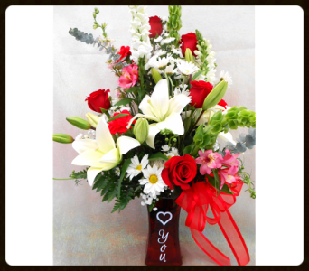 My Love To You Bouquet in Tyler TX, The Flower Box