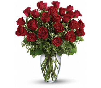 Two Dozen Red Roses in Princeton, Plainsboro, & Trenton NJ, Monday Morning Flower and Balloon Co.
