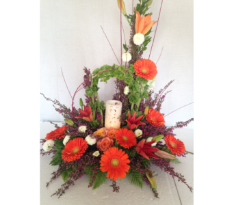 Custom Candle in Crafton PA, Sisters Floral Designs
