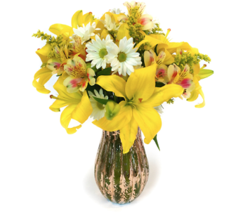 Sunny Tomorrow Bouquet in Santa Fe NM, Barton's Flowers