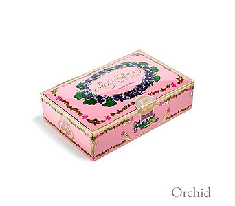 Orchid 12-Piece Chocolate Tin in Oklahoma City OK, Trochta's
