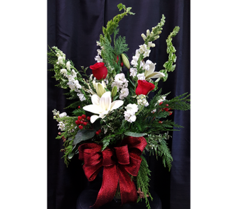 Red & White Grace in Westfield IN, Union Street Flowers & Gifts
