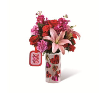 FTD Love You XO Bouquet by Hallmark in Murrells Inlet SC, Callas in the Inlet