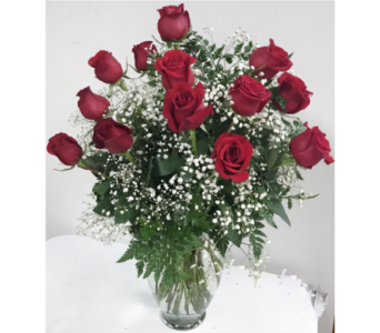Always on My Mind - Long Stemmed Red Roses in Houston TX, Ace Flowers