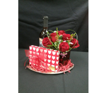 Chocolate, Wine, and Roses in Emporia KS, Designs By Sharon