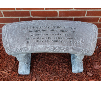 Perhaps Bench in Sterling Heights MI, Sam's Florist