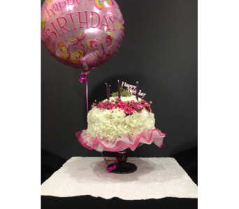 Celebration Cake  in Brentwood CA, Flowers By Gerry