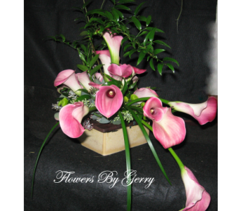 The Calla Waltz  in Brentwood CA, Flowers By Gerry