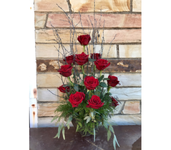 Alluring Roses in Springdale AR, Organic Creations at Country Gardens