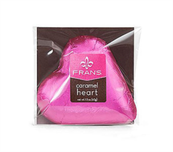 Frans Chocolate caramel hearts in Bellevue WA, CITY FLOWERS, INC.