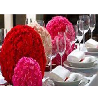 CARNATION LOVE BALLS   in Bellevue WA, CITY FLOWERS, INC.