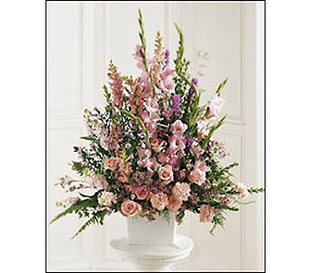 The FTD Peaceful Memories Arrangement in Cohasset MA, ExoticFlowers.biz