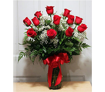 Dozen Red Roses in Largo FL, Rose Garden Flowers & Gifts, Inc