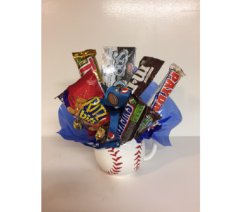 BASEBALL CANDY CUP in Twin Falls ID, Absolutely Flowers